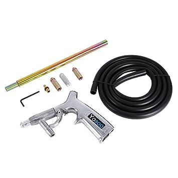 Pistola para aire, a Compresor Aire sabbiatura para el cristal, Il Metal Lijado Pulido superficiale con accesorio fondamentale: Amazon.es: Bricolaje y ...