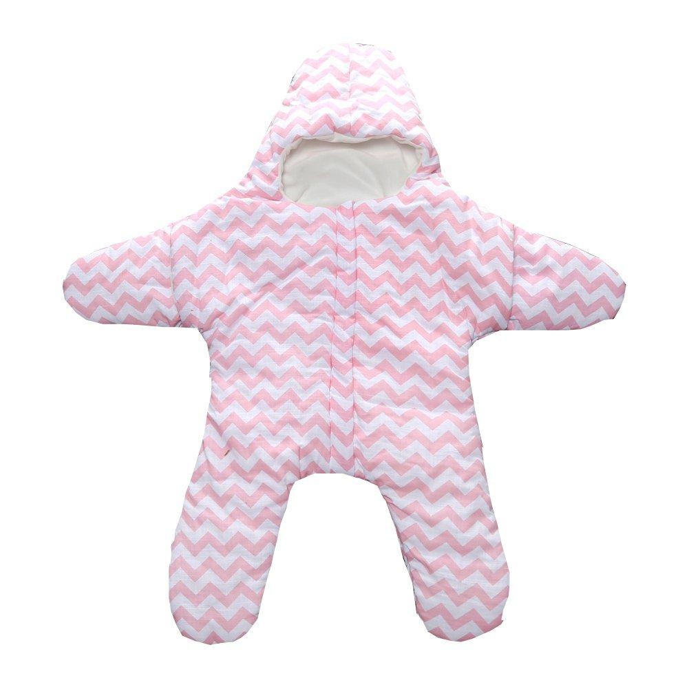 Amazon.com: EXIU Newborn Baby Autumn Winter Starfish Cotton Sleeping Bag Blanket 0-1 Year: Baby