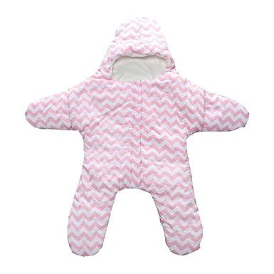 EXIU bebé otoño invierno estrellas algodón manta saco de dormir 0-1 año: Amazon.es: Ropa y accesorios