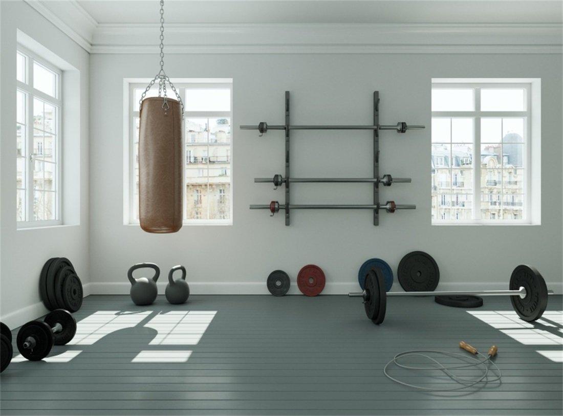 Amazon leowefowa ft gymnasium backdrop interior fitness