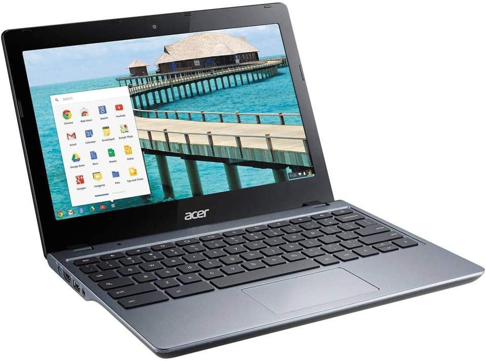 Acer C720P-2625 11.6-Inch Chromebook Intel 2955U 1.40GHz Dual Core 4GB-DDR3 16GB-SSD (Renewed)