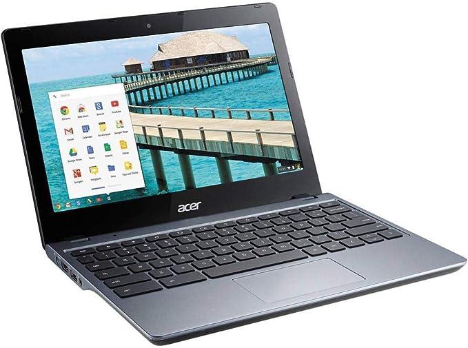 Acer C720P-2625 11.6-Inch Chromebook Intel 2955U 1.40GHz Dual Core 4GB-DDR3 16GB-SSD (Renewed) | Amazon
