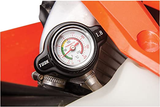 Tusk High Pressure Radiator Cap with Temperature Gauge 2.0 Bar KTM 360 SX 1996-1997 Fits