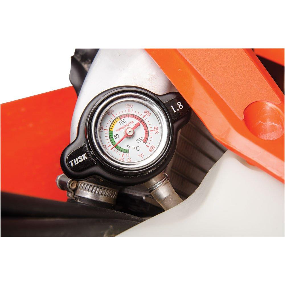 Tusk High Pressure Radiator Cap with Temperature Gauge 1.8 Bar - Fits: Polaris RANGER 900 XP 2013-2016