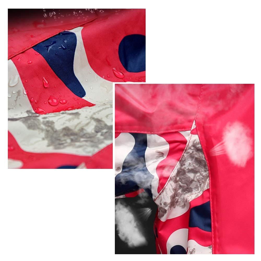 Geyao Regenmantel Regenanzug Motorrad Motorrad Elektroauto Mode Tarnung M/änner und Frauen Einzel Erwachsene im Freien wasserdicht Split Regenmantel Size : M