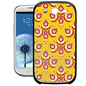 Bumper Phone Case For Samsung Galaxy S3 - Peacocks India Inspired Rubber TPU