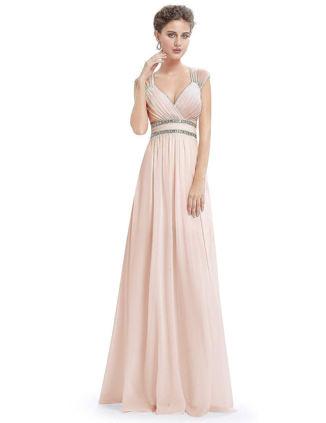 女性のイブニングドレス/Vネックダブルショルダートーストの服/シフォン年次ミーティングコスチュームロングドレス/パーティーウエディングドレス B07FLY8CXW XL|5 5 XL