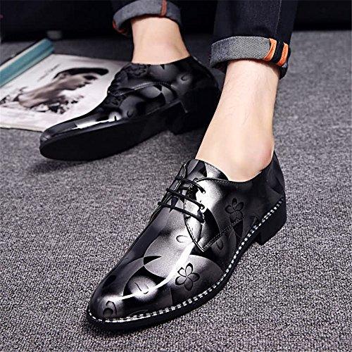 da mimetico Rosso da lavoro stringate Tacco shoes 2018 Xujw piatto dimensione Mocassino 40EU Gray Modello casual uomo Scarpe Scarpe basse Colore OP1nWq6
