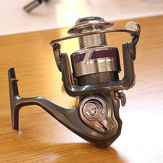 KinshopS 12 Axis Full Fishing Reel Spinning Wheel Fish Sea Bream Wheel Fishing Rod: Amazon.es: Hogar