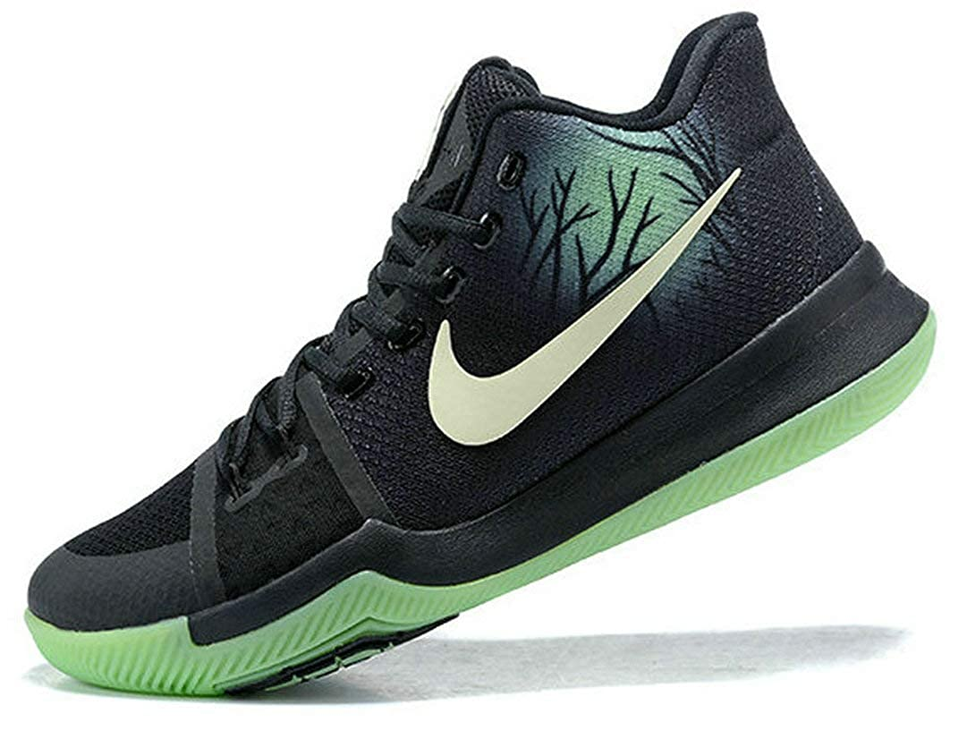 Kyrie 3 Fear PE Mint Green Black Zapatos de Baloncesto para Hombre ...