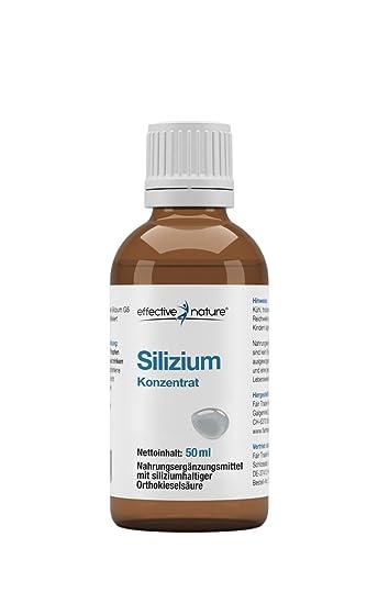 silizium nahrungsergänzung