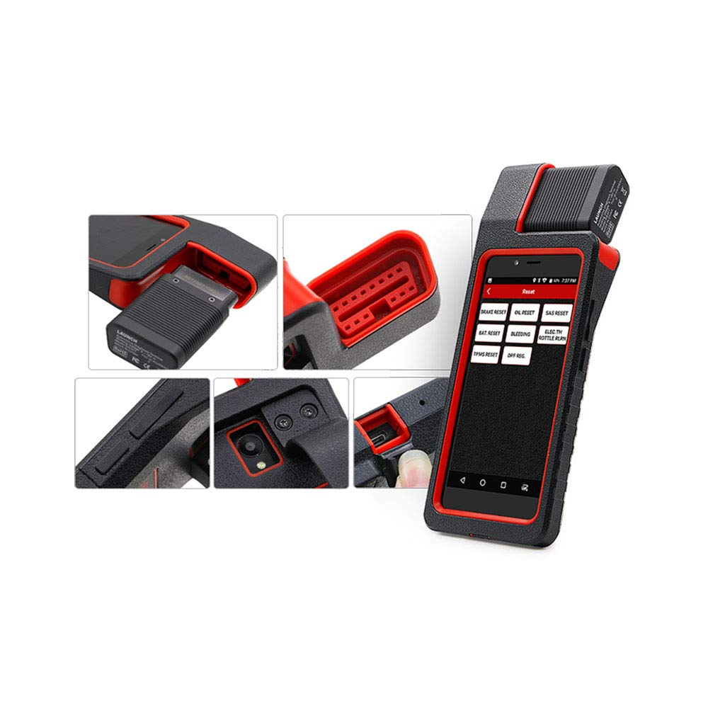 LAUNCH X431 DIAGUN IV WiFi/Bluetooth OBD2 Scanner Auto Full System Diagnostic Tool Support ECU Coding,Actuation Test,Remote Diagnostic 11 Reset Functions Diagnostic Report - Free Update 2 Years by LAUNCH (Image #7)