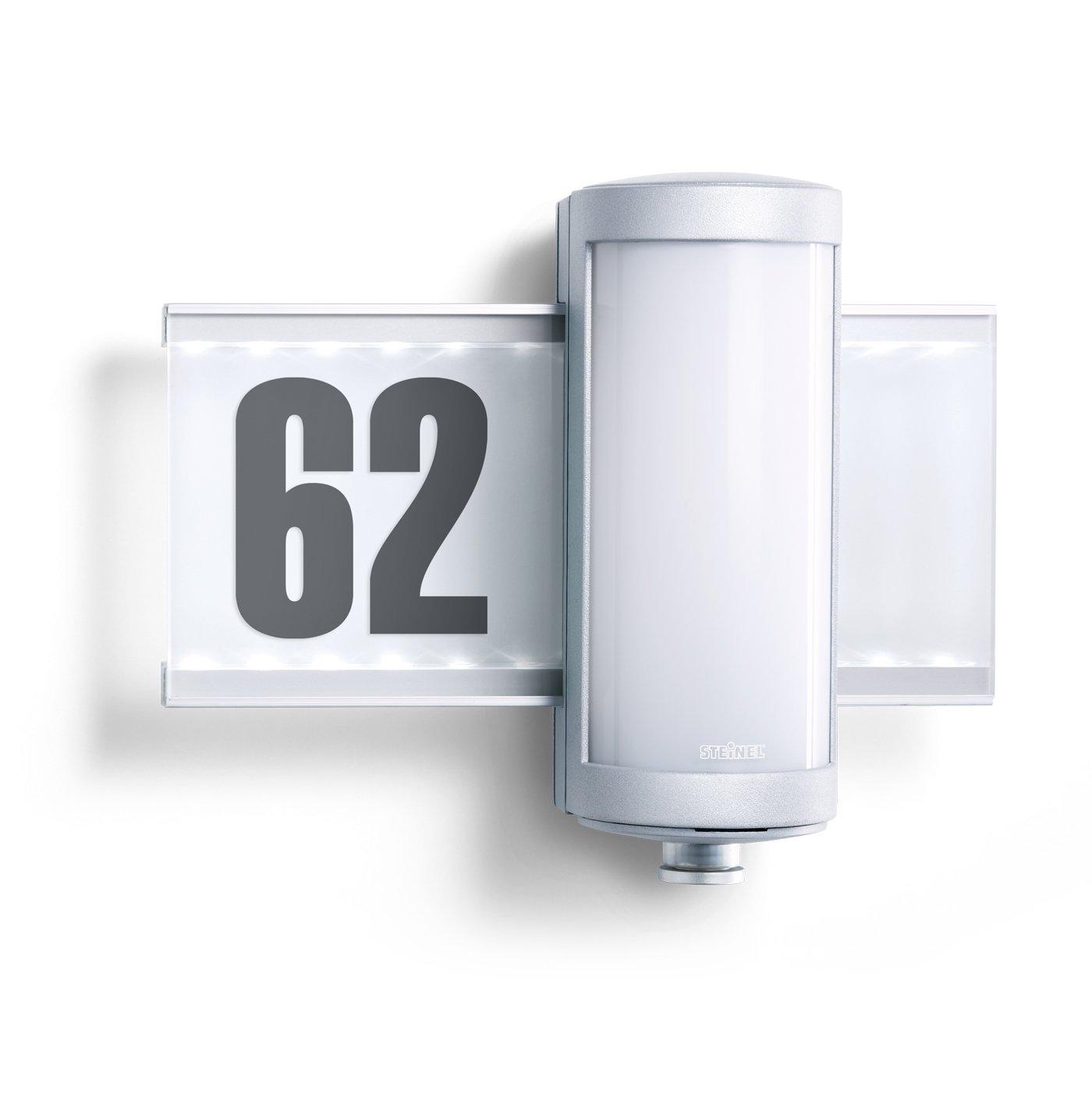 Steinel LED Außenwandleuchte L 625 LED, 155 lm, inkl. Hausnummern ...