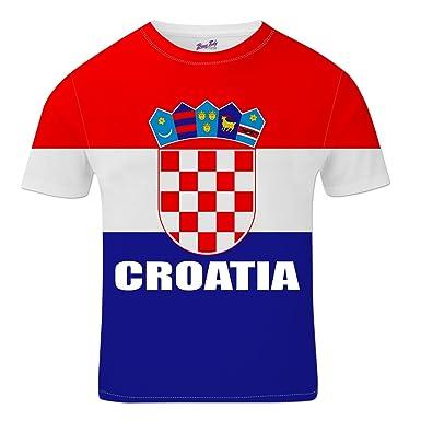Bang Tidy Clothing Croatia Football Shirts for Men 2018 Croatian Team Flag  T Shirt Fans Gift  Amazon.co.uk  Clothing 79245fba2