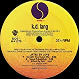 k.d. lang Lifted By Love vinyl record