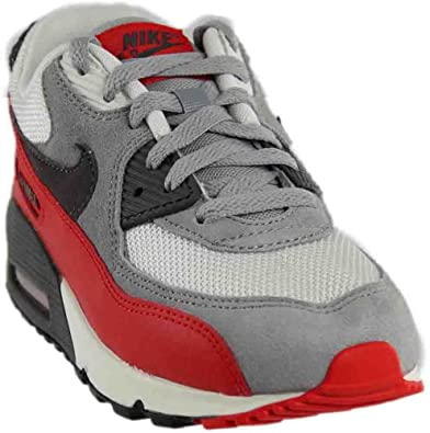 en soldes c57bc 3659d Nike Air Max 90 Enfant Grise Rouge Gris 35: Amazon.fr ...