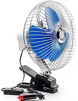 Car Electric Fan Ventilador del Coche de 8 Pulgadas Ventilador ...