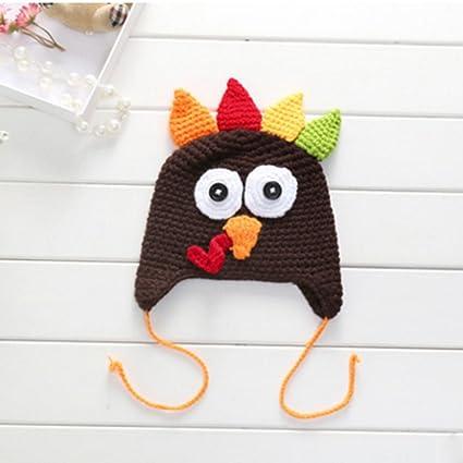 Amazon Baby Toddlers Thanksgiving Turkey Beanie Hat Cap Cute