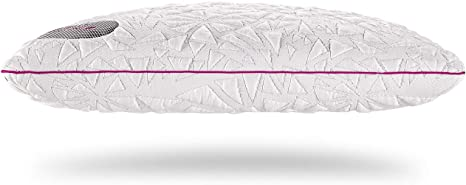 bedgear storm performance pillow instant cooling removable washable cover four pillow heights for back stomach side and multi position
