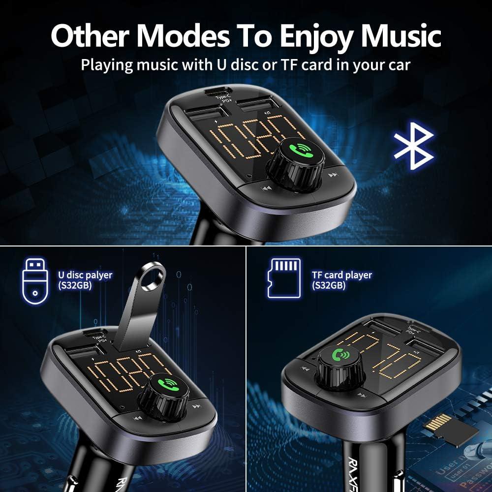 Bluetooth Fm Transmitter Raxfly Fm Transmitter Für Elektronik
