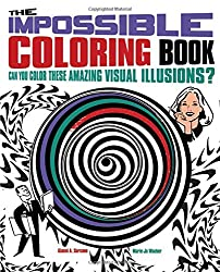 The Impossible Coloring Book: Can You Color These Amazing Visual Illusions? (Chartwell Coloring Books)