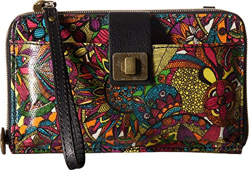 Sakroots Artist Circle Large Smartphone Cross-Body Phone Wallet,Rainbow Spirit Desert