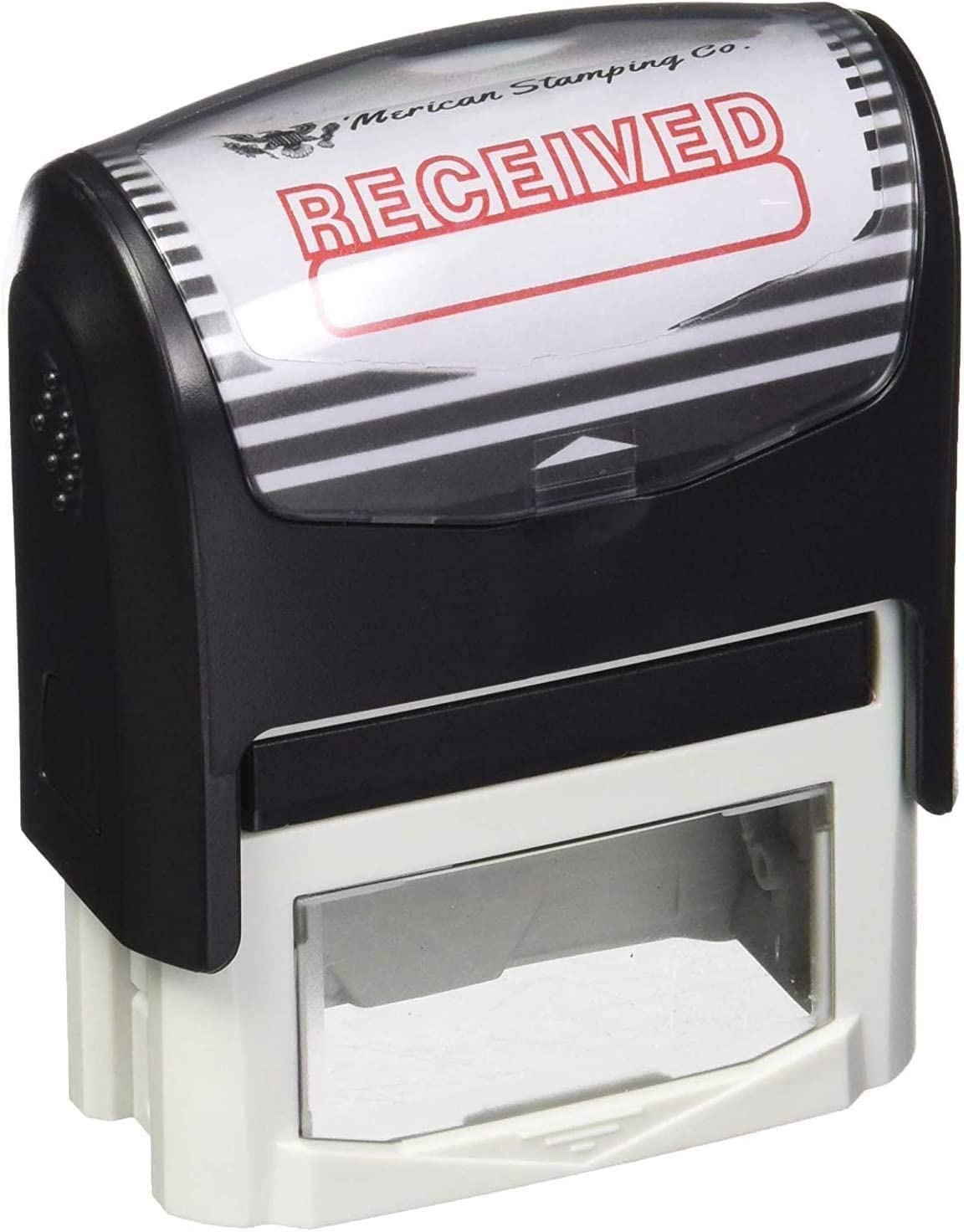 Received Stamp Received Self Inking Rubber Stamp Office Stamp (Stamp Only)