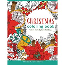 Christmas Coloring Book. Family Activity For Holidays