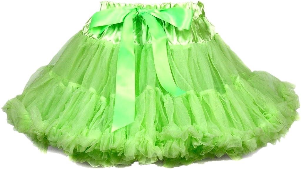 Petitebelle - Falda - Trapecio o corte en A - para bebé niña Verde ...