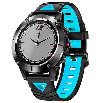 JJSSGGJJSSHH Brazalete Deportivo G01 GPS Smart Watch Hombres IP68 ...