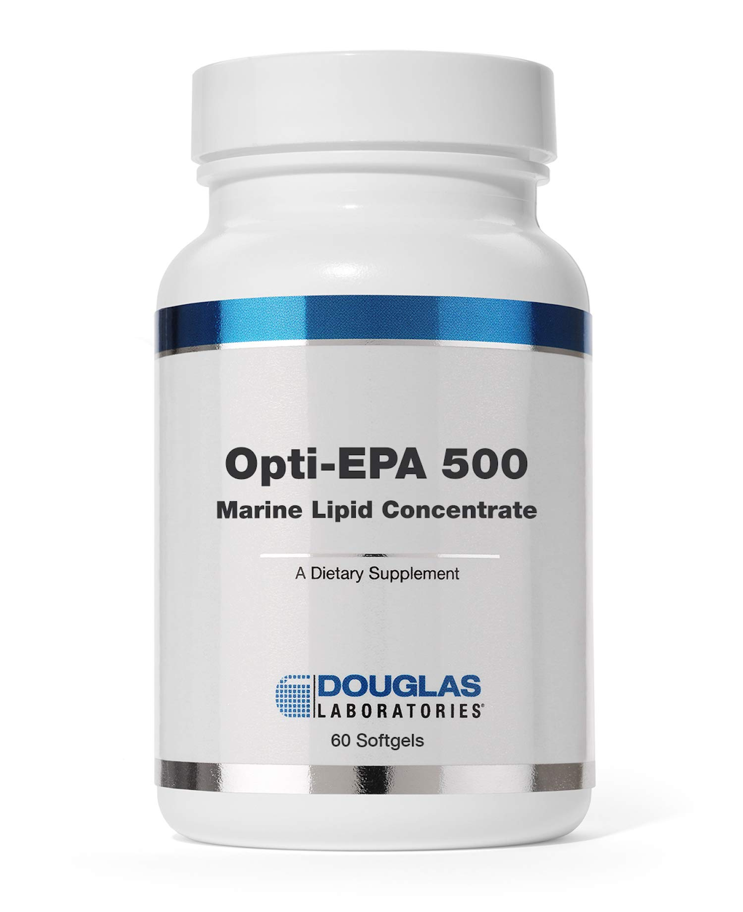 Douglas Laboratories - Opti-EPA 500 (Marine Lipid Concentrate) - Supports Brain, Eyes, Pregnancy and Cardiovascular Health* - 60 Softgels by Douglas Laboratories