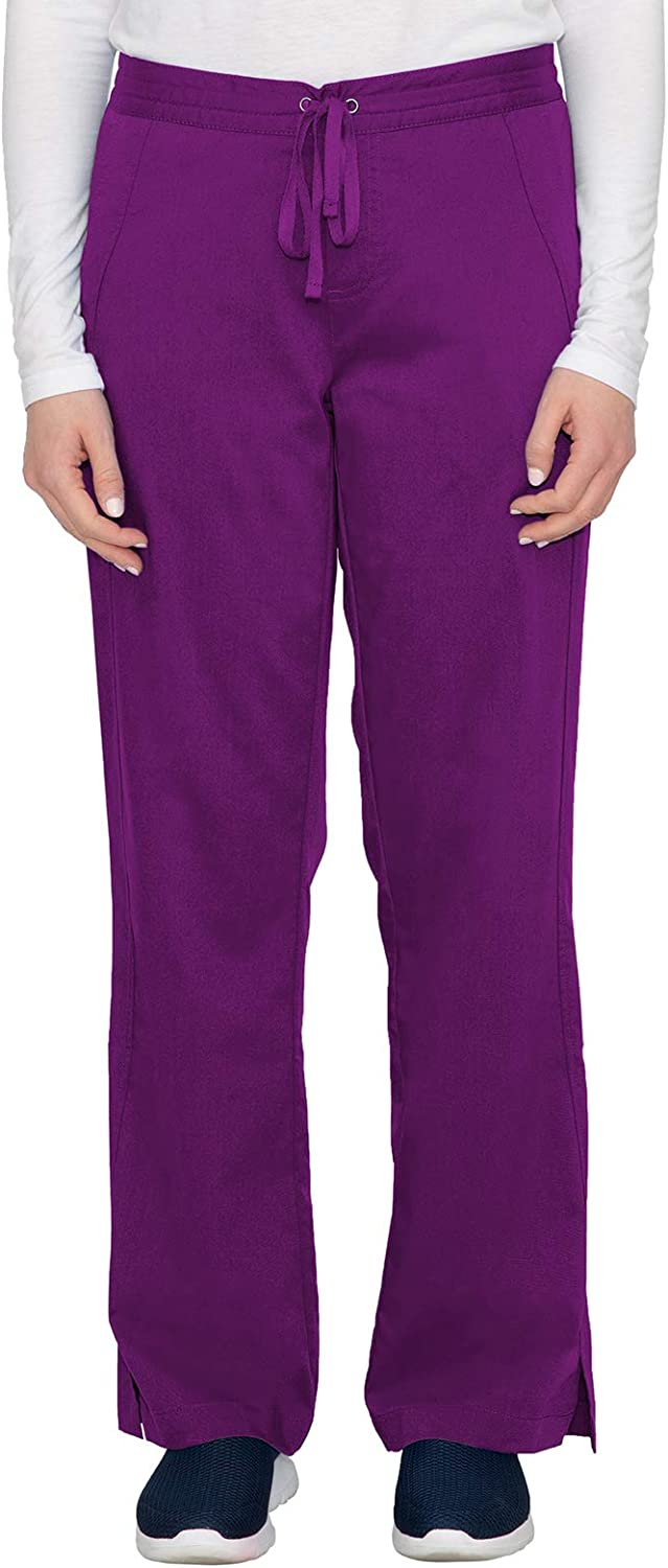 healing hands Purple Label Women's Taylor Pant – Two Pocket Boot Cut Scrub Pant