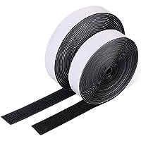 Vicloon Haak en lus Tap, 10m zelfklevende kleverige tape, dubbelzijdige herbruikbare kleverige tape, zware kleverige…