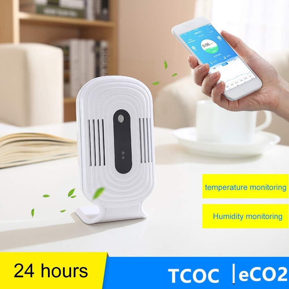 Cigopx WiFi Portable Smart Home Smog Meter PM2.5 Detection Instrument CO2 Formaldehyde TVOC Air Quality Tester