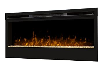 Amazon.com: Dimplex BLF50 50-Inch Synergy Linear Wall Mount Electric Fireplace: Home Improvement