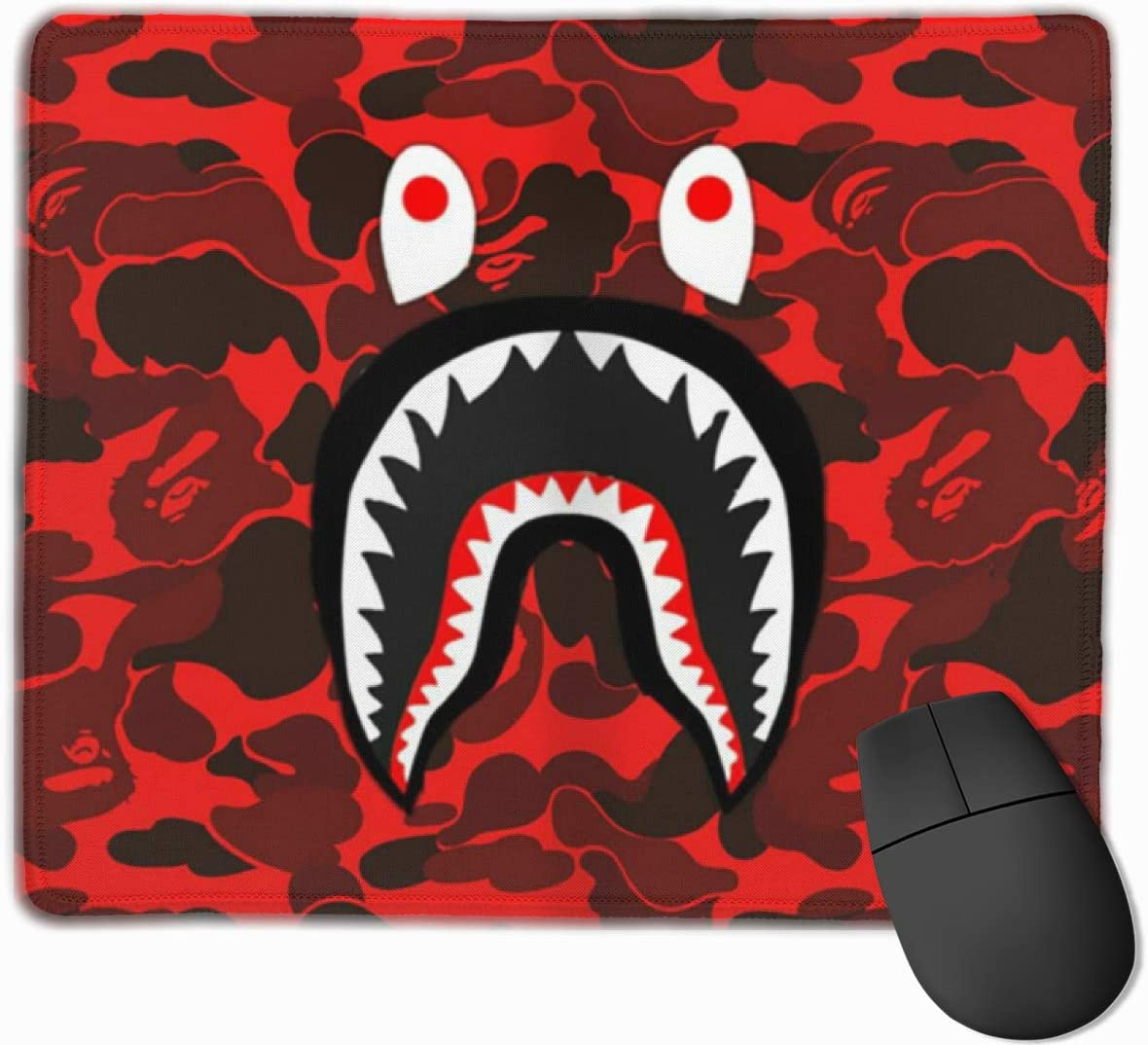Ba-pe Mouse Pad Non-Slip Rubber Gaming Mouse Pad Rectangle Mouse Pads for Computers Laptop Multi-Style