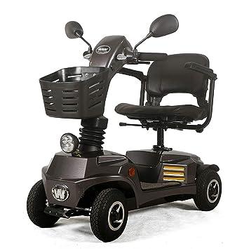 ACEDA Moto Eléctrica para Personas Mayores con 4 Ruedas, Plegable E-Scooter,Scooter Mobility Minusválidos,Peso Máximo Soportado 140Kg: Amazon.es: Deportes y ...