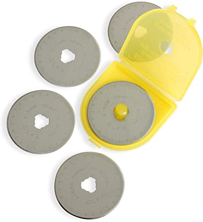 NEW Olfa 28mm Rotary Blade Refill 5 per Package FREE SHIPPING