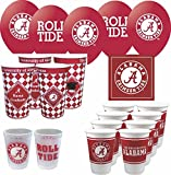 Westrick Alabama Crimson Tide GRADUATION Party Supplies by 69 pieces