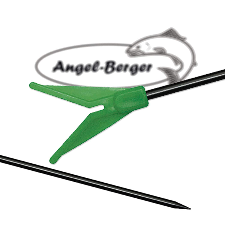Angel Berger Metall Rutenhalter 3 Stück