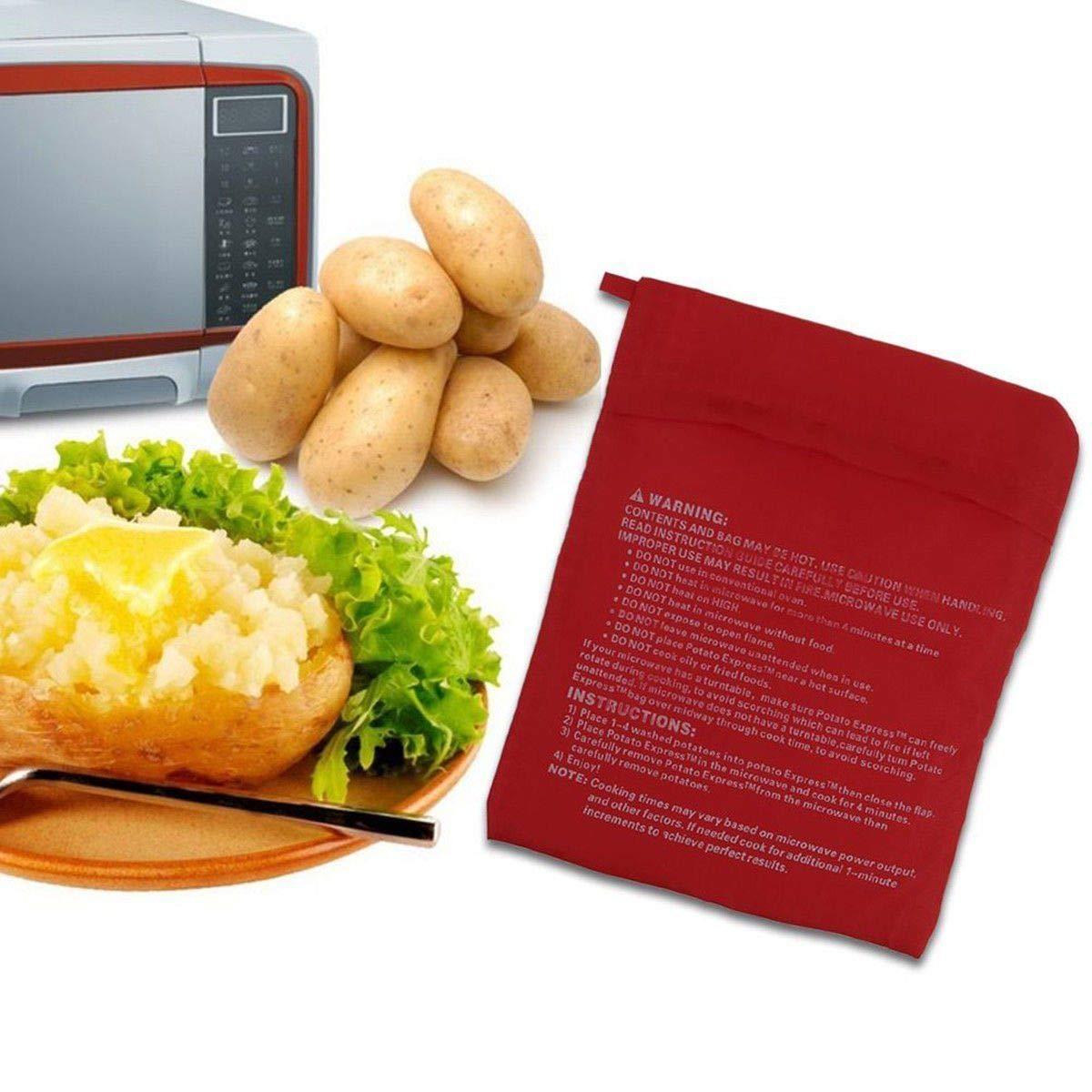 Vvciic - Paquete de 2 cocina de papa de microondas, lavable ...