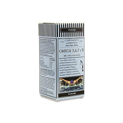 PRONUTRI - PRONUTRI Omega 3,6,7 y 9, 45 cápsulas blandas