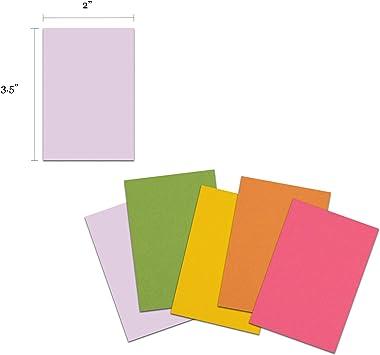 Amazon.com : Premium Bulk Blank Index Cards 3.5