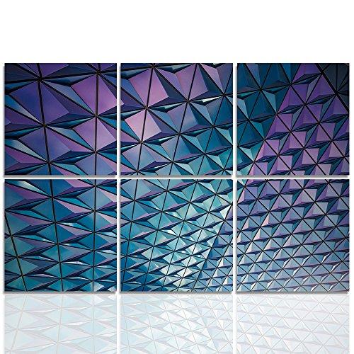 Feeby frames tableau multi panneau 6 parties tableau - Tableau imprime sur verre ...