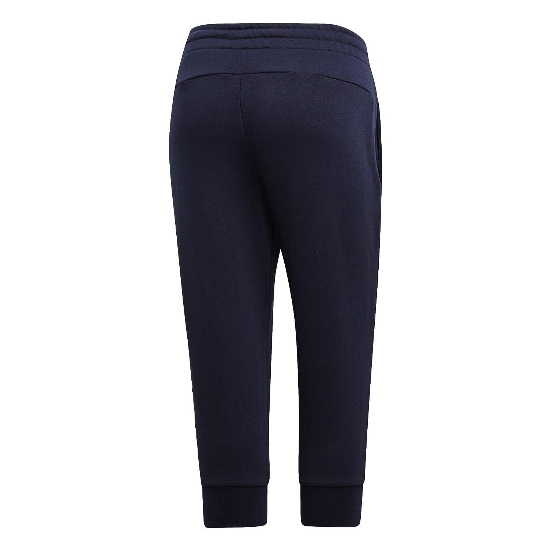 0d63ff77de6c34 adidas Pantalon femme 3/4 Essentials Linear: Amazon.co.uk: Sports ...