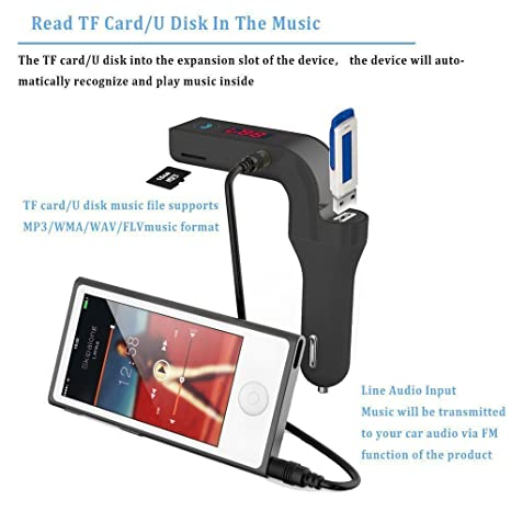 Samsung Galaxy S8 Plus Compatible Car G7 Bluetooth FM