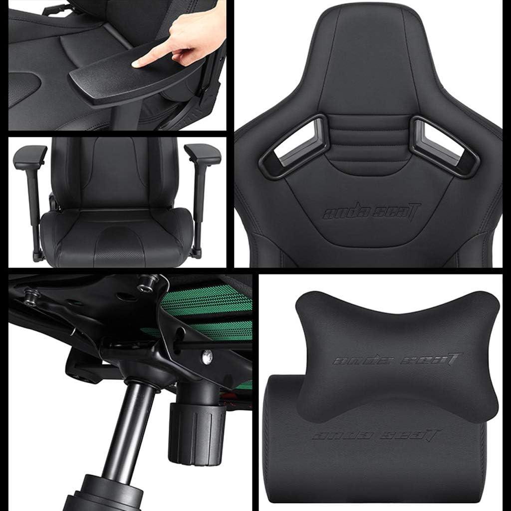 Chaise de jeu JT- E-sport chaise d\'ordinateur à domicile chaise compétitive ergonomique chaise durable (couleur : B) A