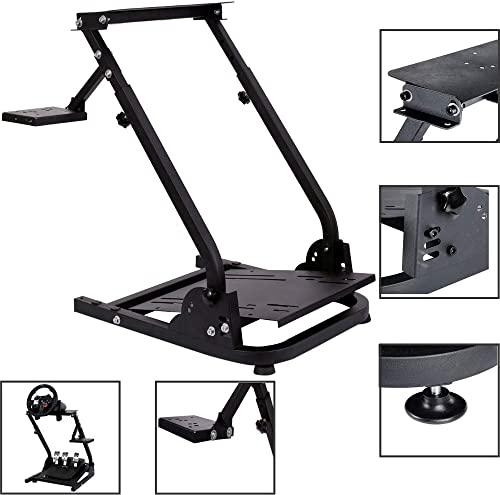 Marada G920 Racing Wheel Stand Pro Shifter Mount Logitech G27 G25 G29 Steering Gaming Wheel Stand Wheel Pedals NOT Included Racing Wheel Stand