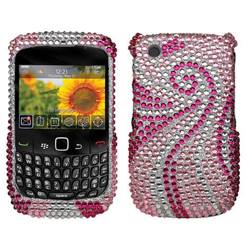RIM BlackBerry Curve 8520, 8530, Phoenix Tail Diamante Protector Cover