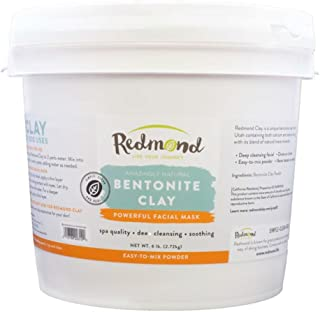 product image for Redmond Clay - Bentonite Facial Mask , Soothing Mud Mask | Clay of 1000 Uses, 6lb bucket